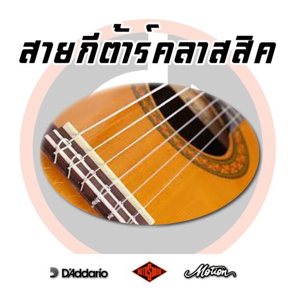 สายคลาสสิค/Classical Guitar Strings